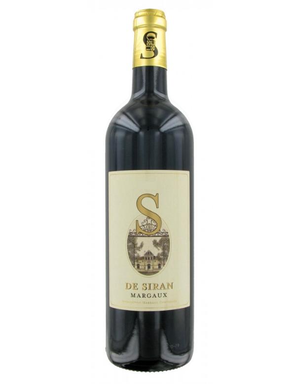 S de Siran 2ème vin du Château Siran