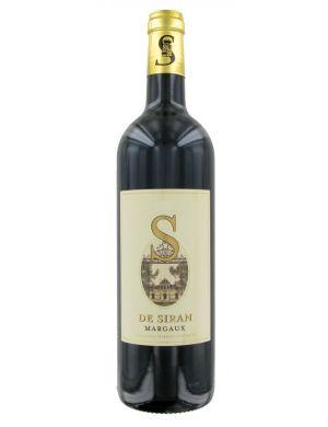 S de Siran 2ème vin du Château Siran 2013