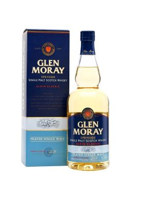 Glen Moray Peated Ecosse / Speyside Single Malt 40°