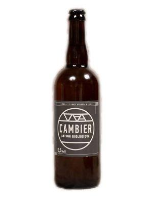 Bière Cambier Saison bio