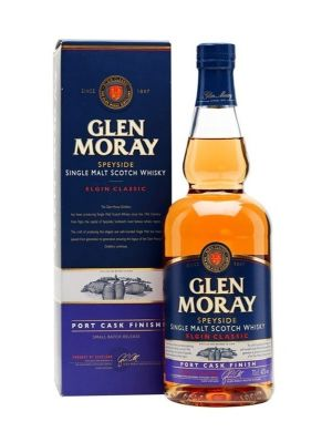 Glen Moray Port Cask Finish Ecosse / Speyside Single Malt 40°