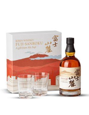 Coffret Kirin Fuji Sanroku Japon Blended Whisky 50° +2 verres