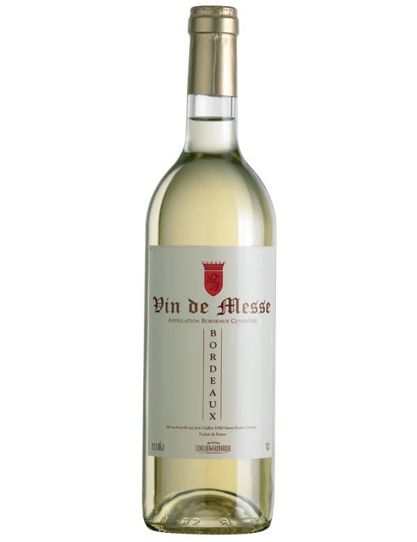 Vin de Messe SANS - Bordeaux - Cuvelier Fauvarque