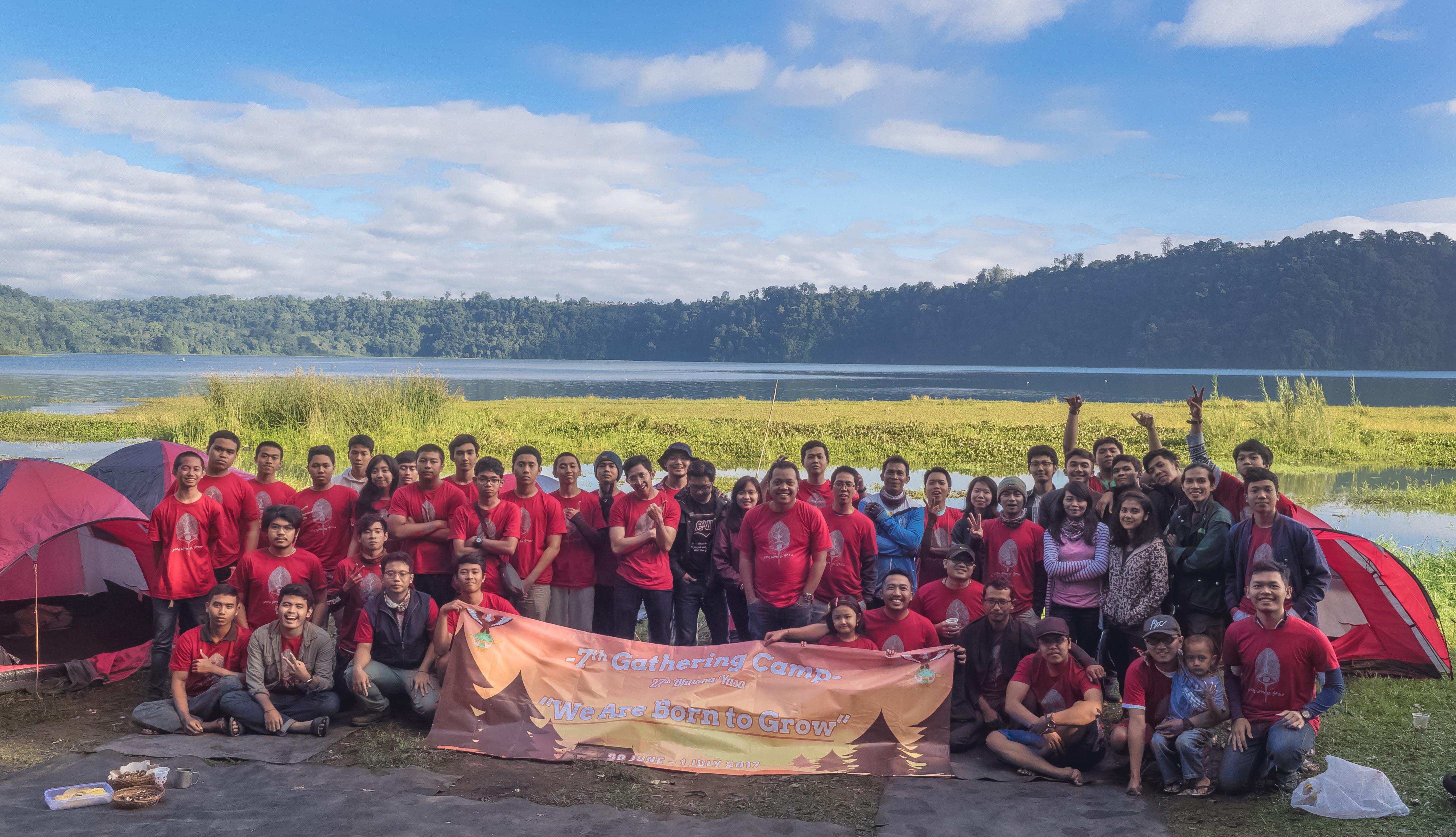 Gathering Camp Sispala Bhuana Yasa Pertama tahun 2017 di Buyan