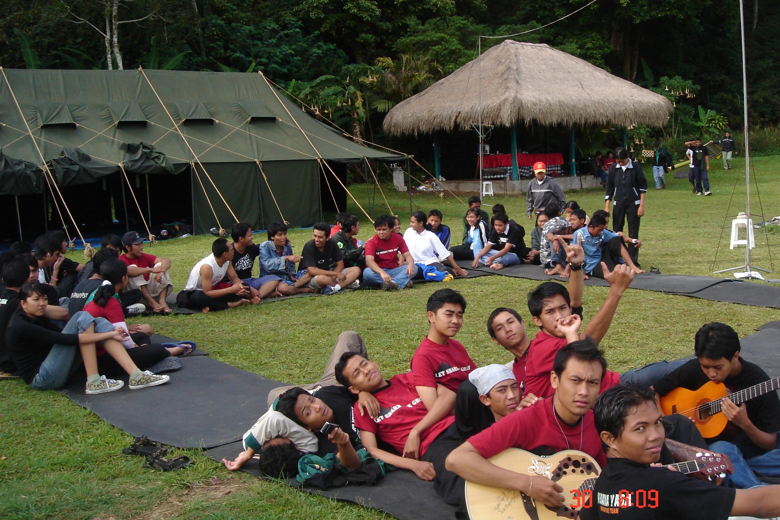 Gathering Camp Sispala Bhuana Yasa SMA Negeri 4 Denpasar