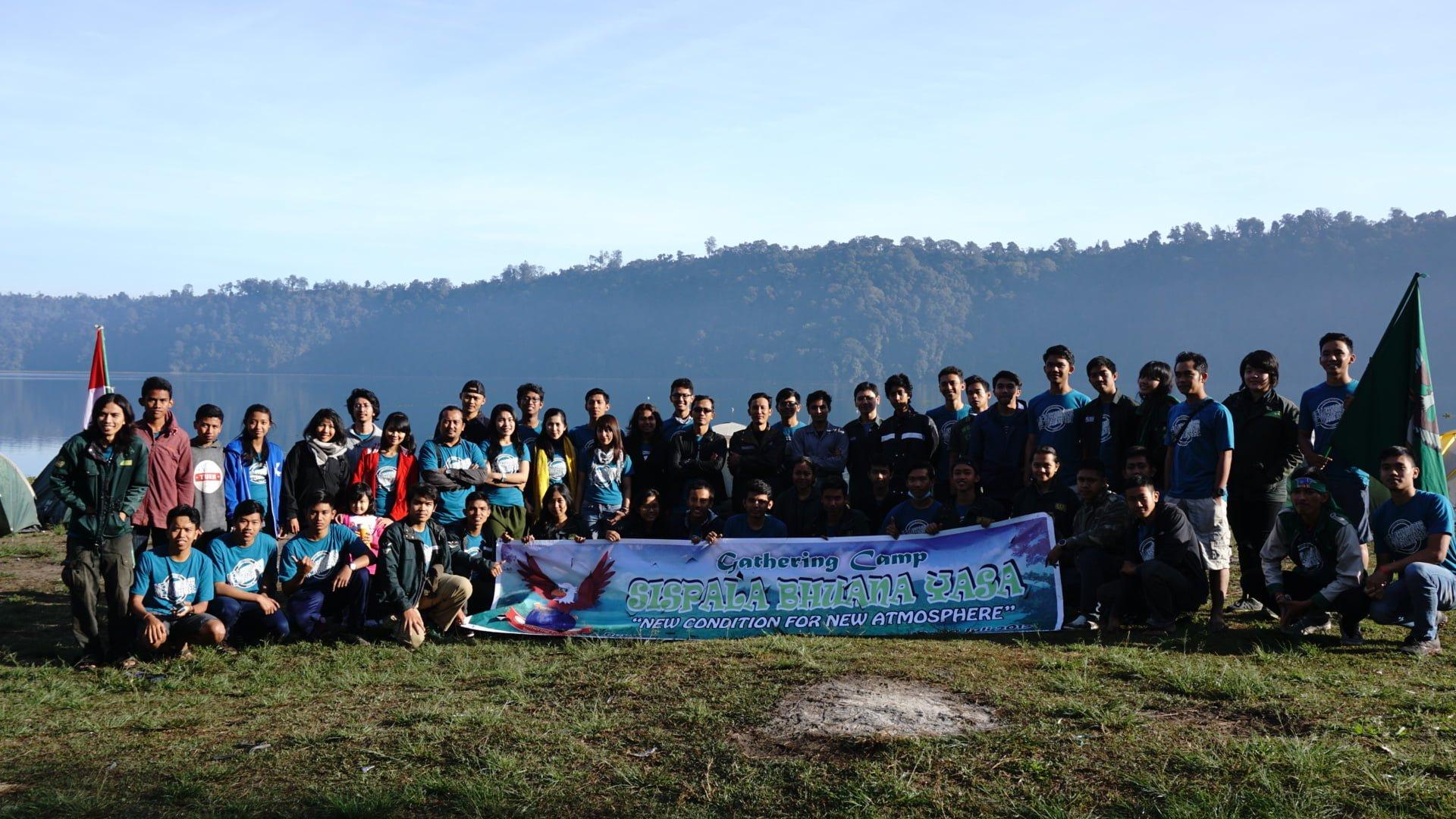 Gathering Camp Sispala Bhuana Yasa Pertama tahun 2015 di Buyan