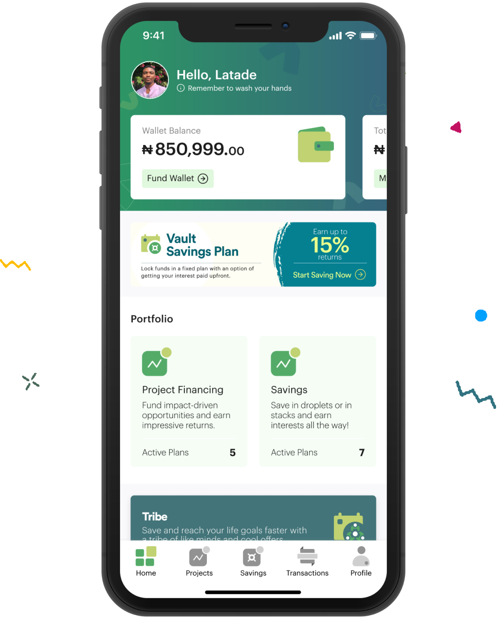 Crowdyvest App