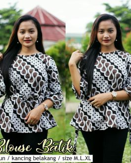 Blouse Batik Kantor BT M07