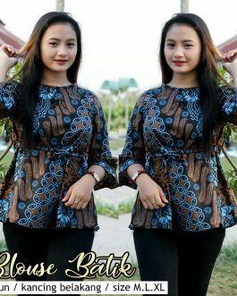 Blouse Batik Kantor BT M04