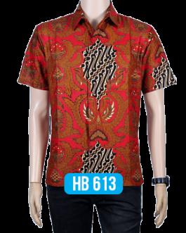 Batik Lengan Pendek HB 613