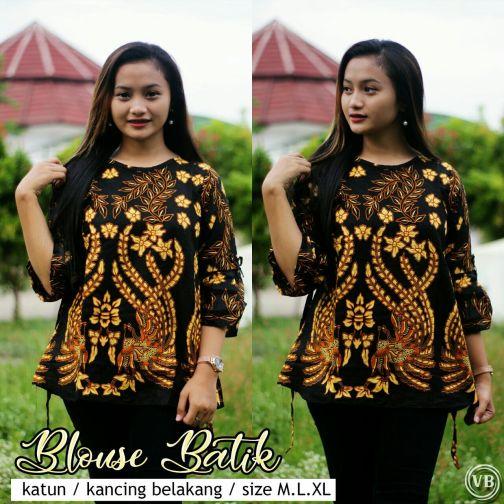 Blouse Batik Kantor BT M08