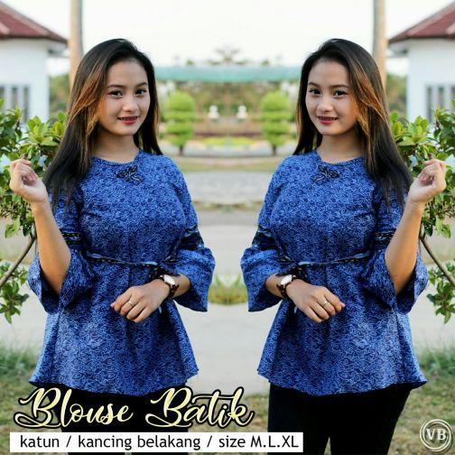 Blouse Batik Kantor BT M05