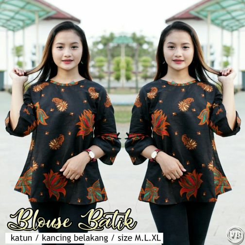 Blouse Batik Kantor BT M02