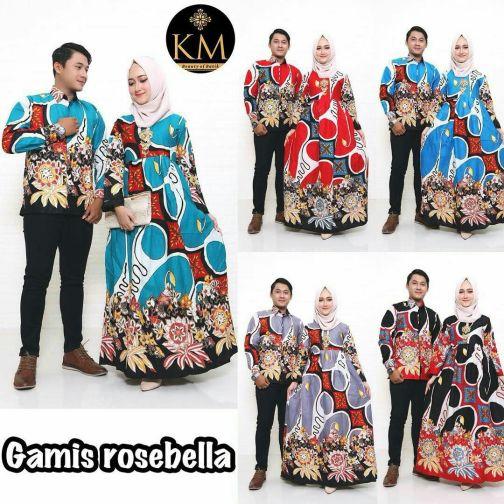 Couple Gamis Rosebela 1