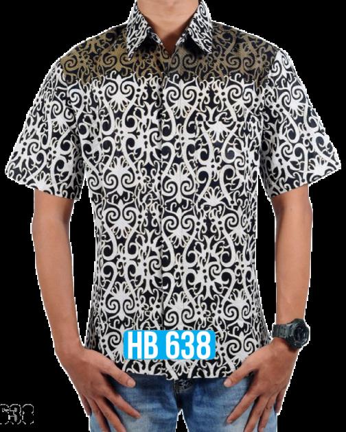 Batik Lengan Pendek HB 638