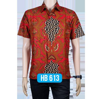 Batik Lengan Pendek HB 613 1