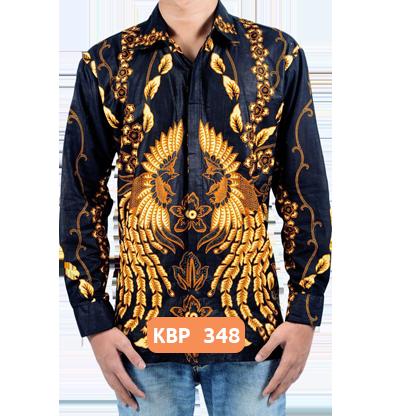 Kemeja Batik Lengan Panjang KBP 348