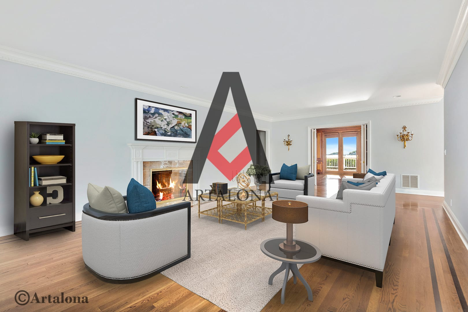 After-Virtual Staging