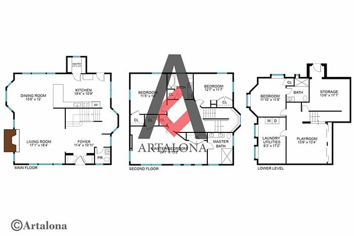 After-2D Floor Plan