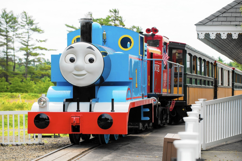 Thomas Town Train in the park. Located in Puteri Harbour, Johor
