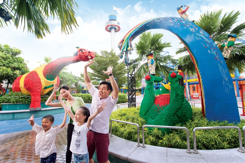 Enjoy the family time in Duplo Playtown.