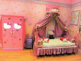 Hello Kitty Bedroom in Hello Kitty Town Johor
