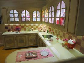Hello Kitty kitchen in Hello Kitty Town Johor