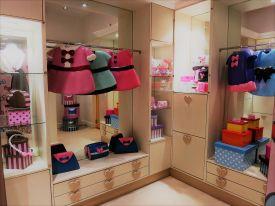 Hello Kitty wardrobe in Hello Kitty Town Johor