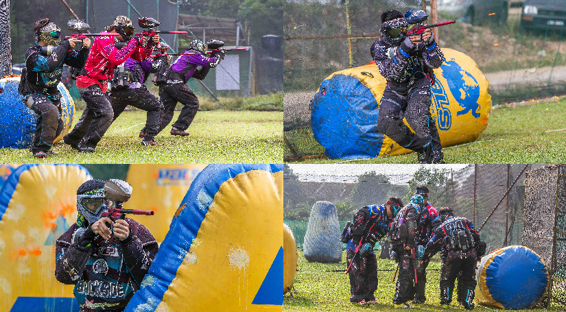AOV Paintball @ Desa Tebrau. Paint ball is one of the best teamwork activities.