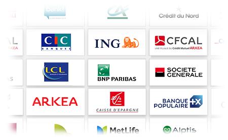 + de 60 banques partenaires