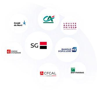 partenaires bancaires Cyberprêt