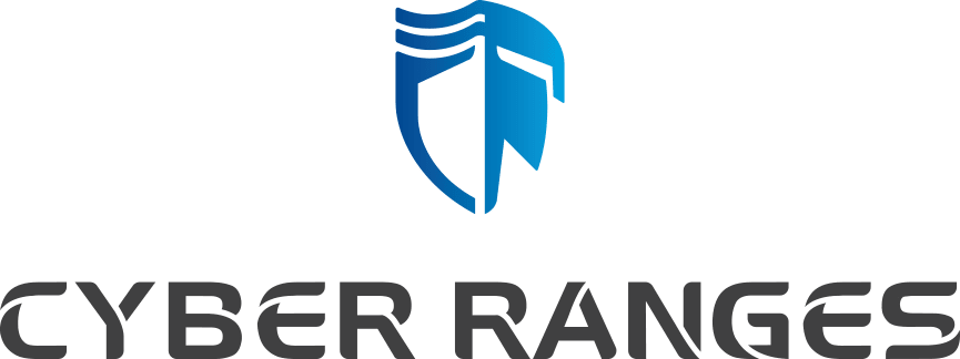CyberRanges Logo Shield and Text