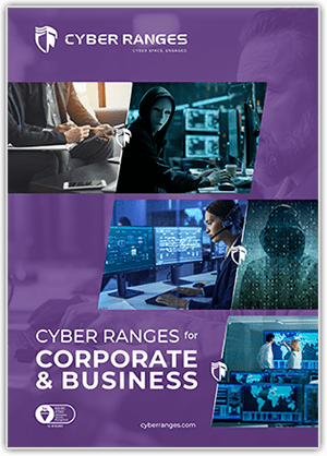 Corporate & Business - Solutions - CYBER_RANGES White Paper Cover