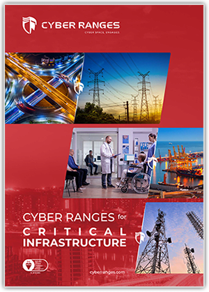 Critical Infrastructure - Solutions - CYBER_RANGES White Paper Cover