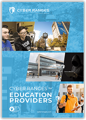 Education Providers - Academia Solutions - CYBER_RANGES White Paper Cover