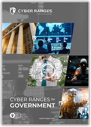 Government - Solutions - CYBER_RANGES White Paper Cover