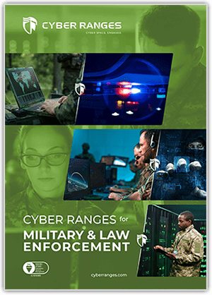 Military & Law Enforcement - Solutions - CYBER_RANGES White Paper Cover