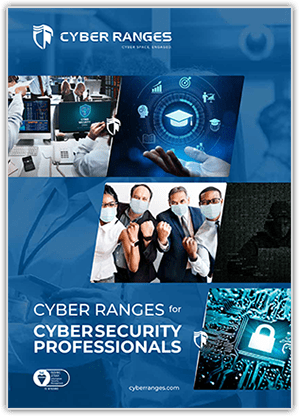 Security Professionals - Solutions - CYBER_RANGES White Paper Cover