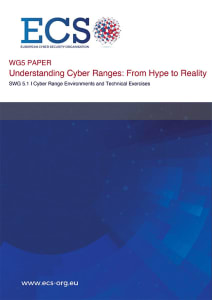 Understanding Cyber Ranges from hype to reality ECSO white paper