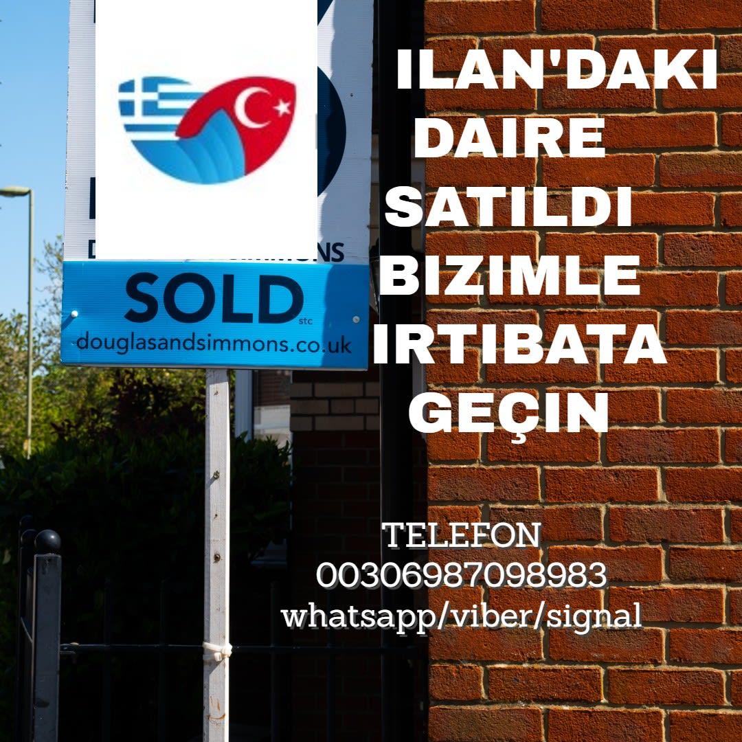 yunanistan atina satılık daire ev dukkan mağaza bina yunanistan emlak