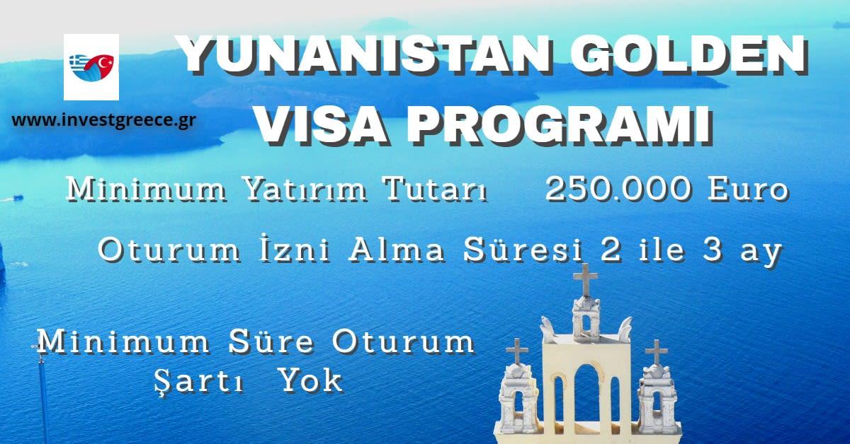 yunanistan golden visa programı