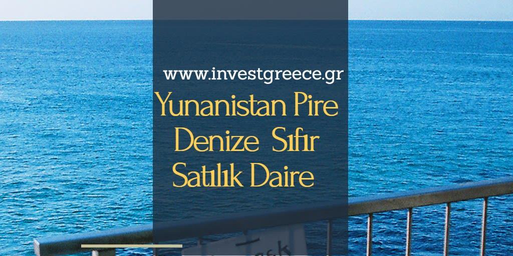 Yunanistan Pire Satılık Daire