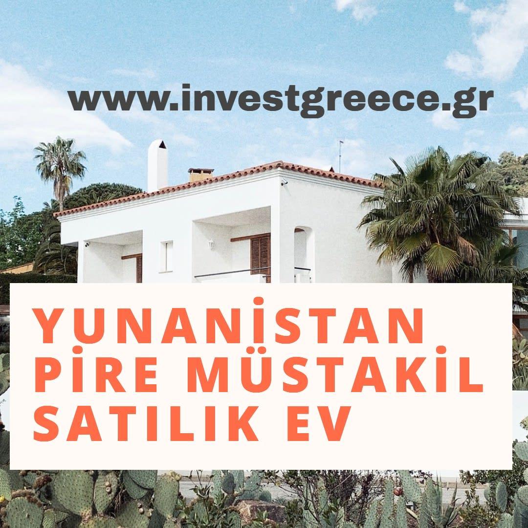 Yunanistan emlak satılık mustakil ev