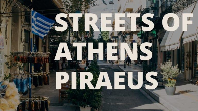 Atina Pire Semti Araba İle Gezinti