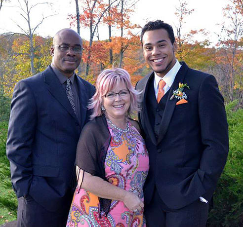 The Mr. and Mrs. with Ethan