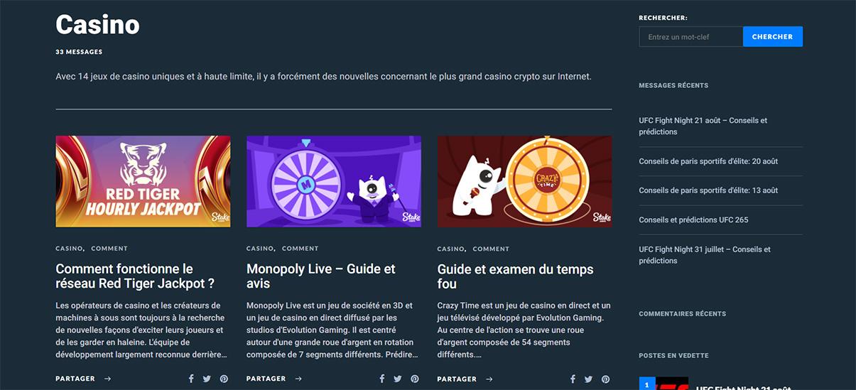 image de présentation blog du casino Stake en France