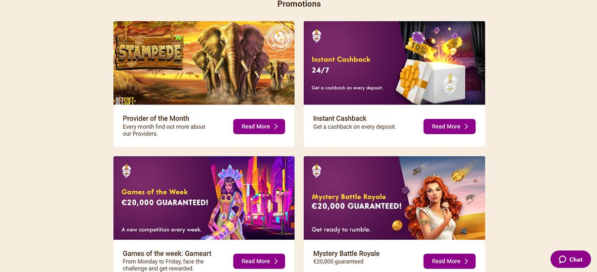 image de présentation promotions du casino Wild Sultan en France