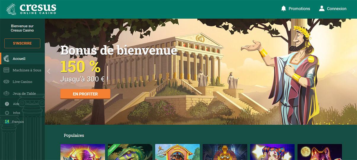 image de présentation de Cresus Casino en France