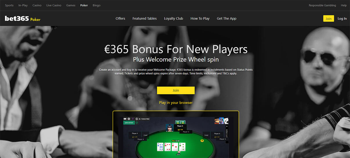 bet365 казино покер презентация изображение