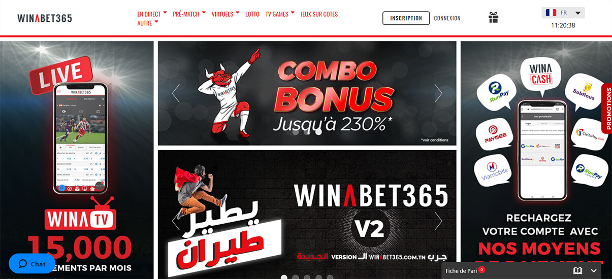 image de présentation du casino Winabet365